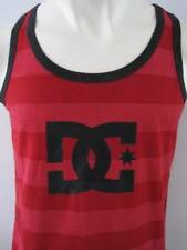 DC Shoes Mens Premium Singlet Tank Top Size S M L XL Red Fox Hurley Henleys