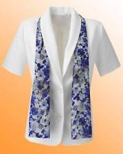 New JD Williams Ladies Heather Valley Tailored Jacket And Scarf Size 16 Cream