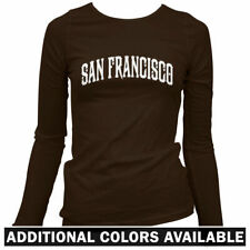 San Francisco Women's Long Sleeve T-shirt LS - 49ers Giants California Bay  S-2X