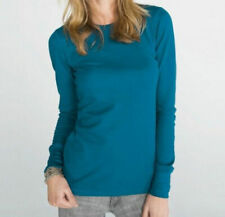 Bella+Canvas Women's New Thermal Slim Fit Long Sleeve Basic Tee Colors 8500