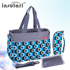 Multifunctional Baby Diaper Nappy Changing Bag Mommy Mummy Handbag Shoulder Bag