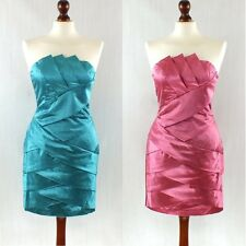 JARLO CITY LIGHTS COCKTAIL PARTY DRESS SIZE S/M TURQUOISE OR PINK BNWT
