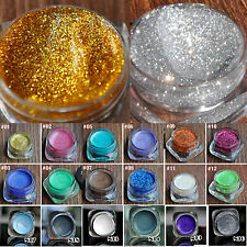 Shimmer Glitter Cream Eye shadow Wet Pressed Glitter Powder Shimmer Eye Makeup