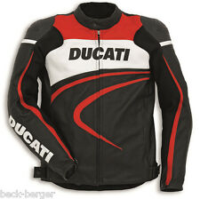 DUCATI Dainese SPORT C2 Leather Jacket Leather Jacket perforated black new