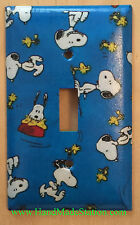Peanuts Snoopy Woodstock Light Switch & Power Duplex Outlet Cover Plate Decor