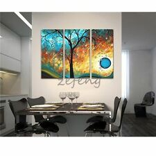 Hand Painted Oil Paintings Fantastic Bubble Trees Decoration -(Frame)-(No Frame)