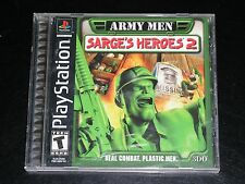 Army Men: Sarge's Heroes 2 (Sony PlayStation 1, 2000) Complete