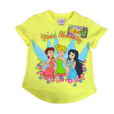 BNWT Girls Disney Tinkerbell Christmas Pixie Holiday T-shirt - Sizes 3 4 5