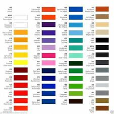 610mm x 5M Prime Series Self Adhesive Sign Making Vinyl 54 Stunning Colours