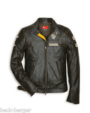 DUCATI HISTORICAL ´13 Leather Jacket Leather Jacket Retro NEW