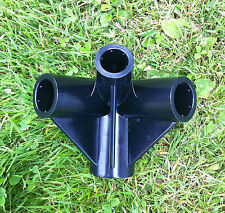 Gazebo Replacement/Spare Parts: 4-Way Roof Corner Connector 20, 26, 33mm (Argos)