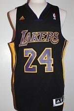 Kobe Bryant Los Angeles Lakers Hollywood Nights Black Swingman Jersey Size 2XL
