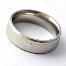 fashion Stainless steel Gecko pattern Mens/womens Ring jewelry size 7,8,9,10,11