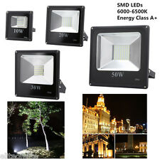 LED SMD Floodlight 10W/20W/40W/50W Outdoor Garden Security Flood Light Lamp IP66