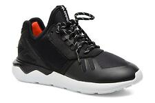 Kids's Adidas Originals Tubular Runner K Low rise Trainers in Black