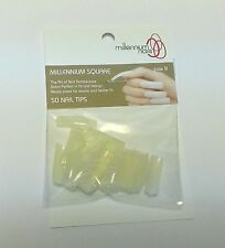 50 Millennium Square Nail Tips (pack of two)