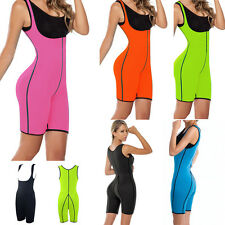HOT Womens Slimming Sweat Bodysuit Hot Neoprene Thermo Shapers for Weight Loss