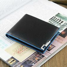Soft Mens Leather Wallet Card Clutch Purse Pockets Bifold Money Clip Wallet Gift