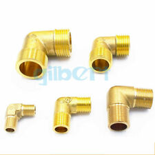 LOT 2 Multiple Brass ELbow Pipe fitting Connector 90 Deg Equal male BSP