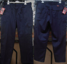 """Men's Cargo Trousers With Knee Pockets for Knee Pads - 28"""" to 55"""" Sizes"""