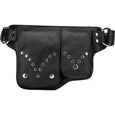 Vicenzo Leather Adonis S Leather Waist Bag Fanny Pack Waist Packs & Fanny Pack