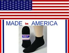 Men big & tall black cotton ankle Diabetic sock shoe size 12-14 gift for him