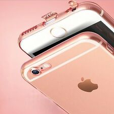 Ultra Thin Clear Transparent Silicone Dustproof Case Cover For iPhone 6 6s Plus+
