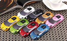 Sport Car Quad Band  Cell Phone W8 Unlocked Dual SIM AT&T phone mp3/4 camera