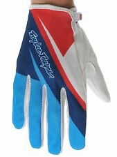 Troy Lee Designs Red-White-Blue 2012 Ace MX Gloves