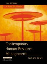 Contemporary Human Resource Management, , Used; Good Book