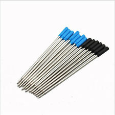 10pcs High Quality cross Style Ballpoint Pen ink Refills fine - BLACK and Blue