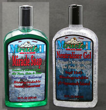 PIC 2- MIRACLE II 22oz NEUTRALIZERS /  SOAPS, NATURAL CHEMICAL FREE, Ph BALANCED