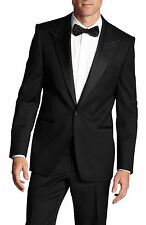 NWT $1,095.00 Hugo Boss Black Super 110 Italian Wool Luxurious Tuxedo Suit 48L