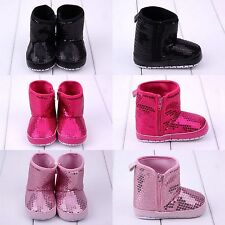 Baby Infant Boy Girl Anti-slip Crib Shoes Prewalker Slipper Sequins Boots Casual