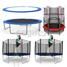 """12FT/55"""" Trampoline Combo Multi Style Bounce Jump Enclosure Net 14FT Pad Cover"""