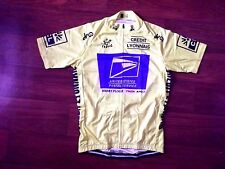 Brand New Team USPS Yellow Jersey cycling Jersey Armstrong Tour De France