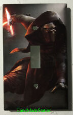 Star Wars Kylo Ren Light Switch Power Outlet Duplex Cover Plate Home decor