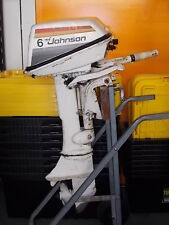 6 HP Johnson Evinrude Outboard Motor SPARK PLUG - Wrecking This Outboard.