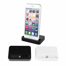 USB Charging Dock Station Cradle Holder Data Sync Charger For iPhone 6 6 Plus