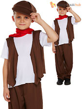 Boys Victorian Chimney Sweep Fancy Dress Costume Childs Mary Poppins Book Week