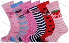 1 Pair Girls Welly Boot Socks Knee High Kids Wellie Wellington Thick Winter Warm