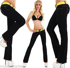 SIMPLY CHIC Bootcut Jeans with belt Sz. 32-40