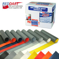 Inflatable Boat Repair Kit, Adhesive Glue, Hypalon Fabric for RIB, Dinghy