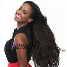 "12""-24"" Silky Straight Sexy Woman Lace Full/Front Wig 100% Indian Human Hair"