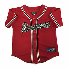 Atlanta Braves Majestic Toddler Alternate Replica Baseball Jersey (3T)