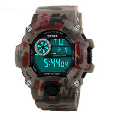 Sport Men Military LED Stopwatch Multi-function Digital Sport Watch