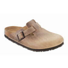 Birkenstock Oiled Leather Boston $199.95rrp - Tobacco Brown 42-46 - BNIB