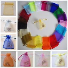 Premium Organza Wedding Favour Party Gift Bag Jewellery Pouches 7x9 9x12 11x16cm