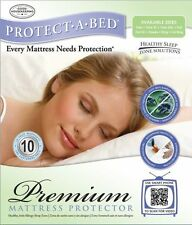 PROTECT YOUR SERTA ICOMFORT MEMORY FOAM ~ GEL MATTRESS WATERPROOF PROTECTOR