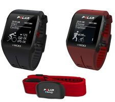 Polar V800 GPS Watch Sports Running Triathlon Black Red+ H7 Heart Rate Monitor